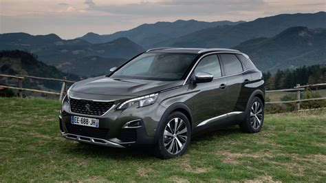 2018-2019 Peugeot 3008 Interior Dashboard Spy