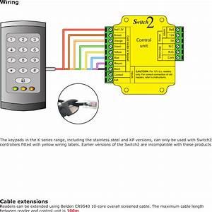 Paxton Door Access Wiring Diagram