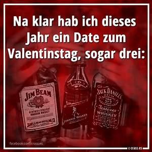 Valentinstag Lustige Bilder : na klar hab ich ein date zum valentinstag sogar drei jim johnnie und jack facebook ~ Frokenaadalensverden.com Haus und Dekorationen