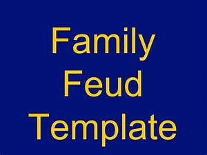 family feud powerpoint template download free premium With family feud template ppt