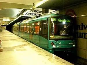 Verkaufsoffener Sonntag Frankfurt Nordwestzentrum : u bahn frankfurt u9 verl sst nordwestzentrum youtube ~ Eleganceandgraceweddings.com Haus und Dekorationen