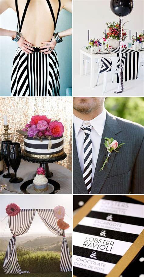 100 cool black and white sassy stripes wedding ideas hi miss puff