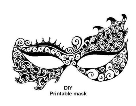 masquerade mask template printable masquerade mask template free printable masquerade mask templates crafts ideas