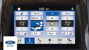 Ford Sync 3 : sync 3 climate comfort adjustments sync 3 how to ford youtube ~ Medecine-chirurgie-esthetiques.com Avis de Voitures