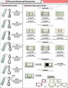 Extension Cords  Electrical Wiring Switches  Sockets Philippines
