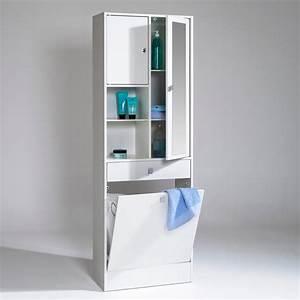 rangement salle de bain bois With salle de bain design avec meuble rangement salle de bain