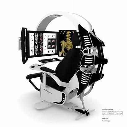 Workstation Emperor Gaming Computer Chair Ergonomic Setup