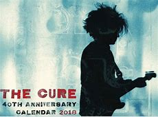 The Cure to release 40th Anniversary calendar for 2018