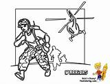Coloring Pages Army Tank Printables Boys Combat Military Truck Soldier Brawny Warriors Yescoloring sketch template