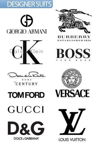 fashion designers names logo fashion designer logos list fashion designer logos