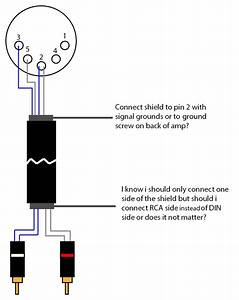5 Pin Din To Rca Diagram