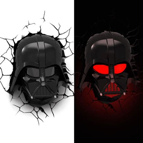 3d darth vader wall light shut up and take my money