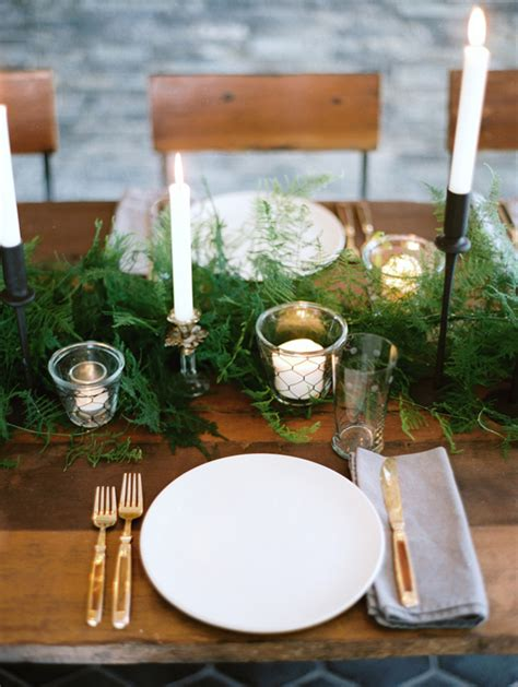 winter table settings winter wedding decorations once wed