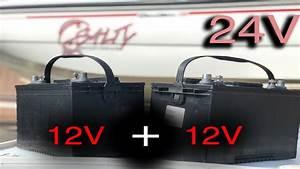 Installing 24v Battery System For Trolling Motor  24 Volt Battery