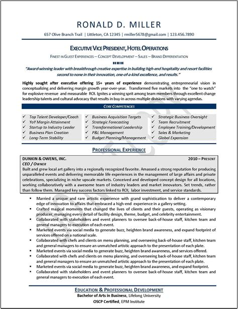 Executive Resumes Templates by Resume Yahoo Image Search Results Sle Resumes