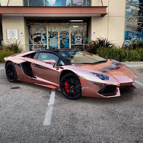 Tyga S Rose Gold Lamborghini Aventador Auto Loan Daily