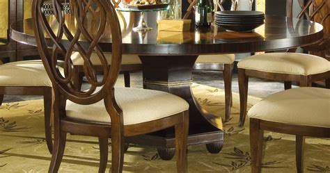Bob Mackie Furniture Dining Room by American Drew Bob Mackie Home Signature Ribbon Table