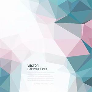 Colorful Geometric Polygon Background Template