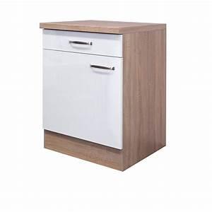 Küchen Unterschrank Günstig : k chen unterschrank venedig 1 t rig 60 cm breit wei k che unterschr nke ~ Frokenaadalensverden.com Haus und Dekorationen