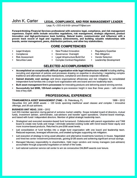 resume compliance officer resume ideas