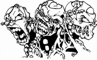 Drawing Evil Hear Speak Drawings Getdrawings