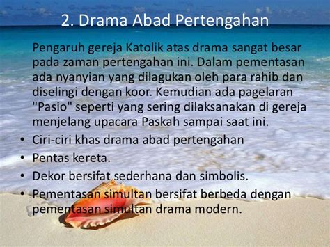 perkembangan drama