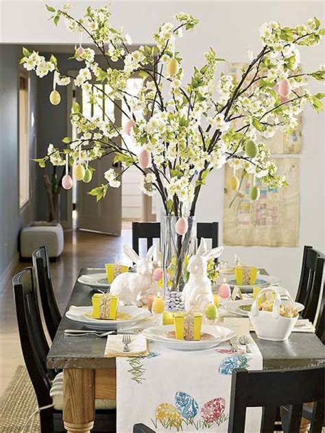 ideas  spring home decorating  blooming branches