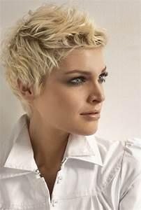 Coupe De Cheveux Femme Courte : coupe de cheveux court femme moderne ~ Melissatoandfro.com Idées de Décoration