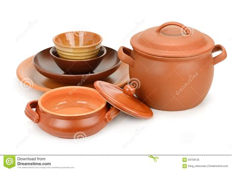 set clay utensils stock image image  collection