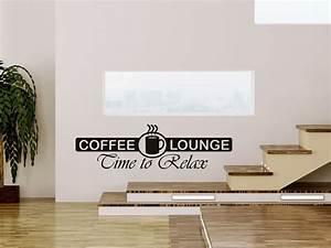 Wandtattoo kaffee lounge for Wandtatoo küche