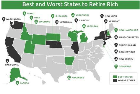 worst states  retire rich gobankingrates