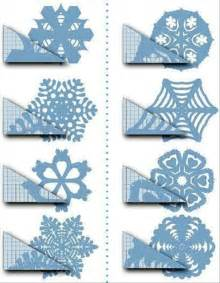 christmas crafts paper snowflakes how to cut a snowflake dump a day