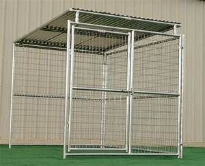 Outdoor used cages metal panel dog cages cheap pet cages for Large dog cages for sale cheap