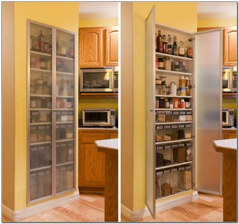 tall kitchen cabinets with glass doors kitchen tall recessed kitchen pantry storage cabinet with