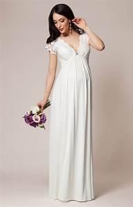 robe de grossesse sevilla longue ivoire robes de With robe maternité pas cher