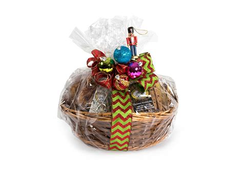 christmas gift basket from cooper street cookies