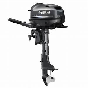Yamaha 4-stroke 6hp Tiller Handle Outboard Motor