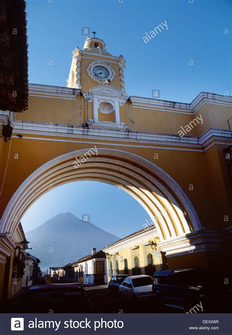 Santa Catarina Arch Antigua Guatemala Stock Photo Royalty