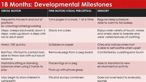 developmental milestones katiebug therapy