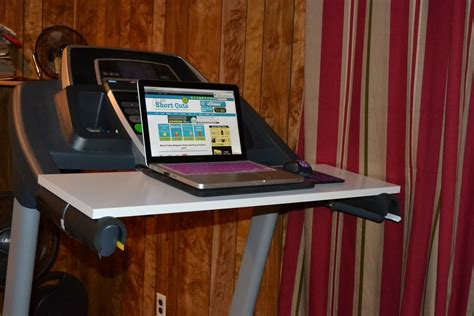 how to make your own desk how to make your own treadmill desk a few shortcuts