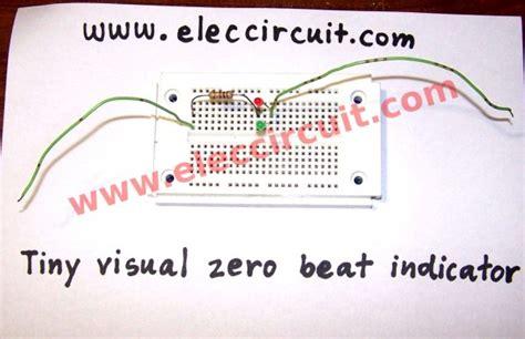 Tiny Visual Zero Beat Indicator Electronic Projects Circuits