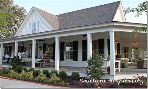 country house plans  porches southern living house plans farmhouse  southern farmhouse