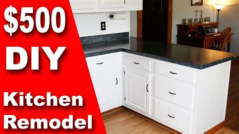 diy kitchen remodel update counter