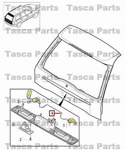 Brand New Oem Rear Tailgate Lock System Harness 2001