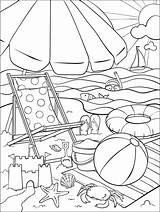 Coloring Beach Summer Crayola Pages Adult Printable Sheets Fun Books Sommer Ausmalbilder Bilder Ausmalen Visit Cool Saying Zum sketch template