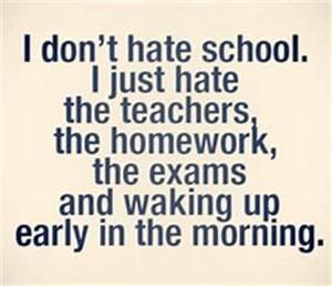 Hate school images on Favim.com