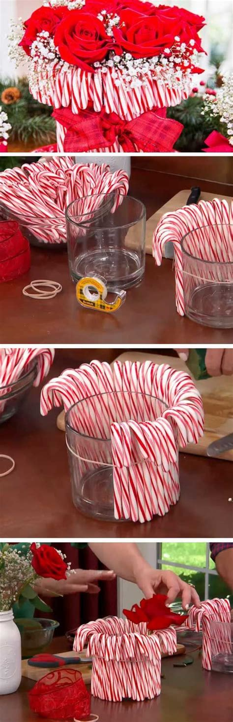 brilliant christmas decoration diys  candy cane