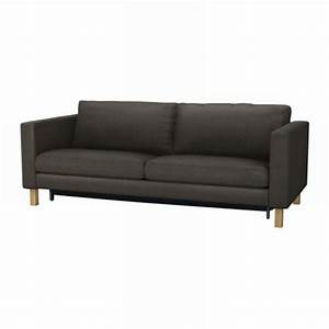 ikea karlstad sofa bed sofabed slipcover cover korndal brown With karlstad sofa bed