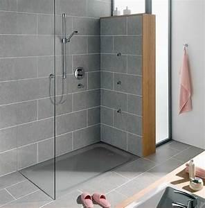 Bodenfliesen Für Begehbare Dusche : duschwanne superflach rechteckig form mit grau stahl email material f r begehbare dusche ~ Sanjose-hotels-ca.com Haus und Dekorationen