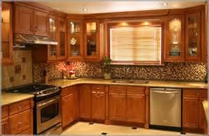 Kitchen Granite And Backsplash Ideas Kitchen Backsplash Ideas With Maple Cabinets Home Design Ideas